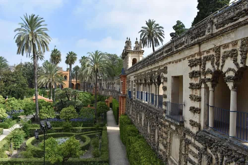 Real Alcazar Palace in Sevilla