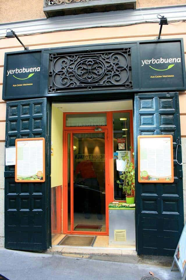 Vegetarian restaurants in Madrid - Restaurante Yerbabuena, Madrid