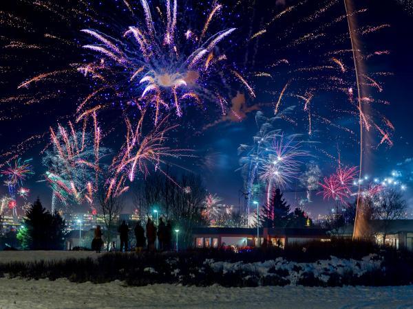 Reykjavik-Newyear-fireworks