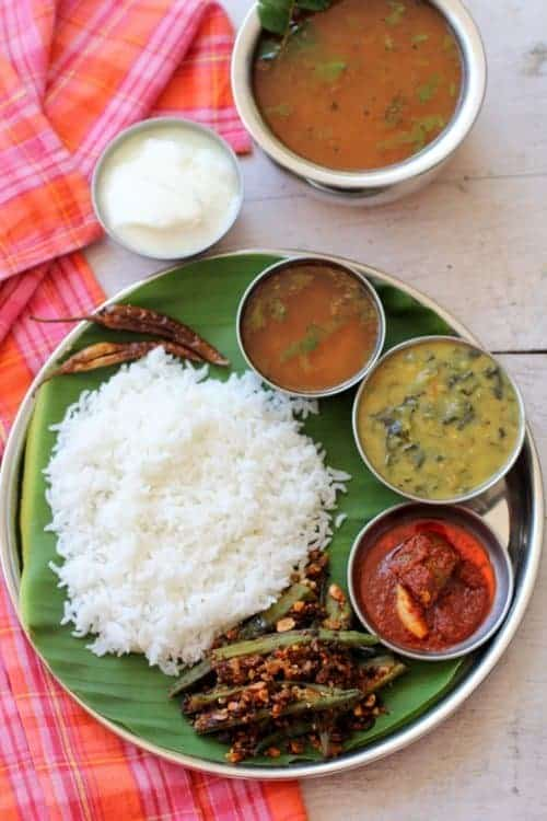 Rice and rasam - cuisines of India