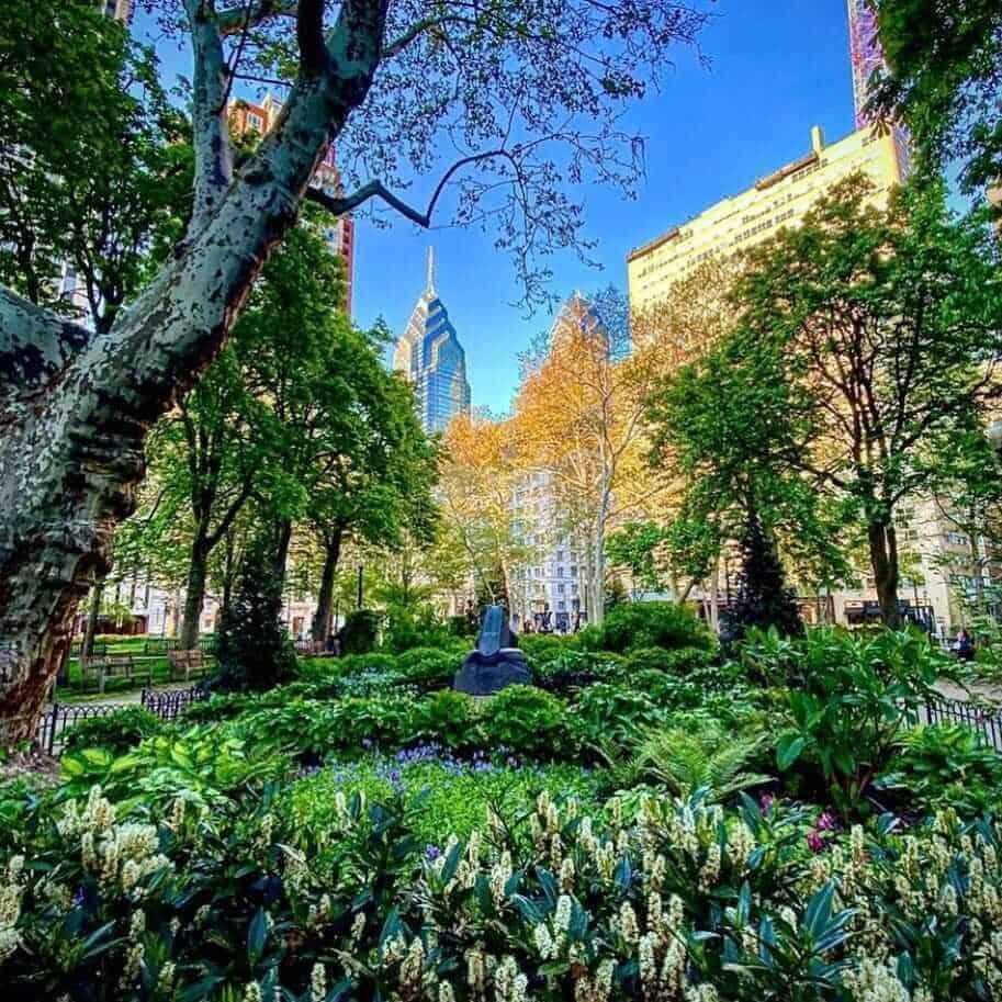 Rittenhouse Square Park, Philadelphia