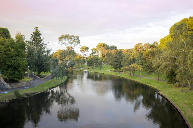 River Torrens, Adelaide, Australia