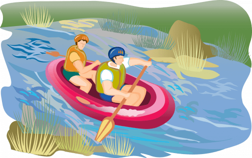River rafting in India