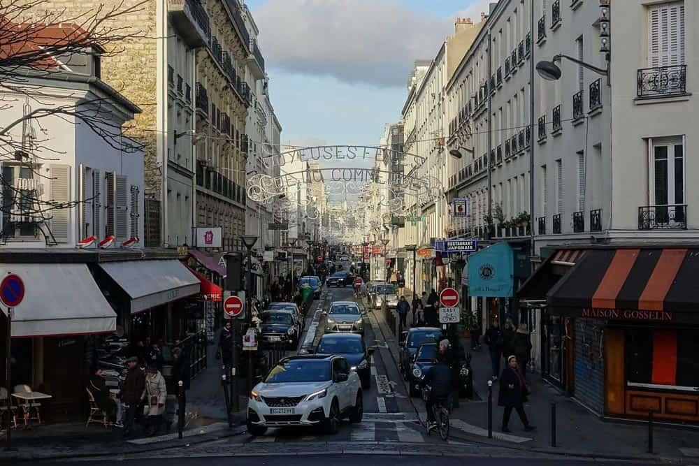 Rue du commerce - Paris