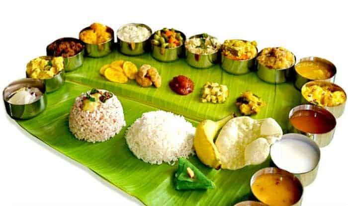 Onam Sadhya - Cuisines from South India