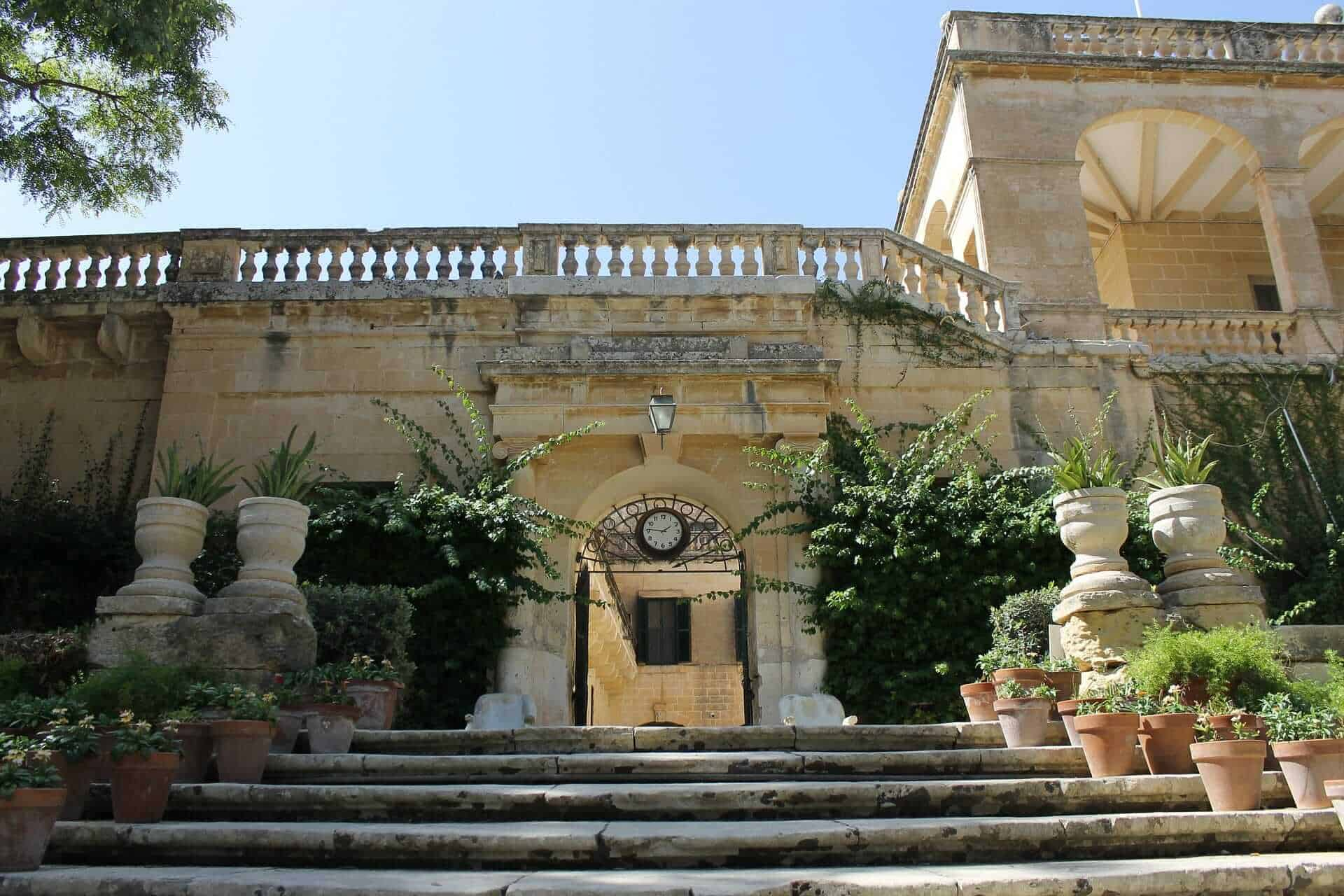 Game of Thrones Locations - San Anton Palace, Malta