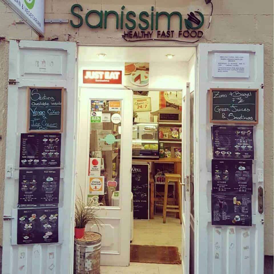 Vegetarian restaurants in Madrid - Sanissimo Malasana, Madrid