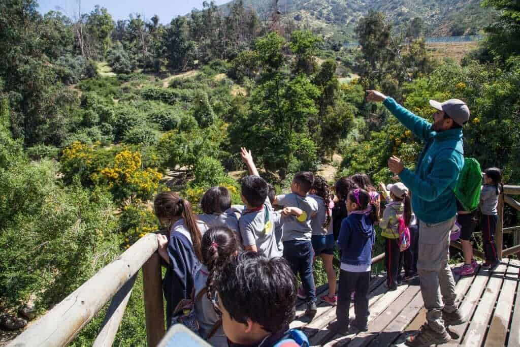 kids at Santiago-metropolitan-park-santiago