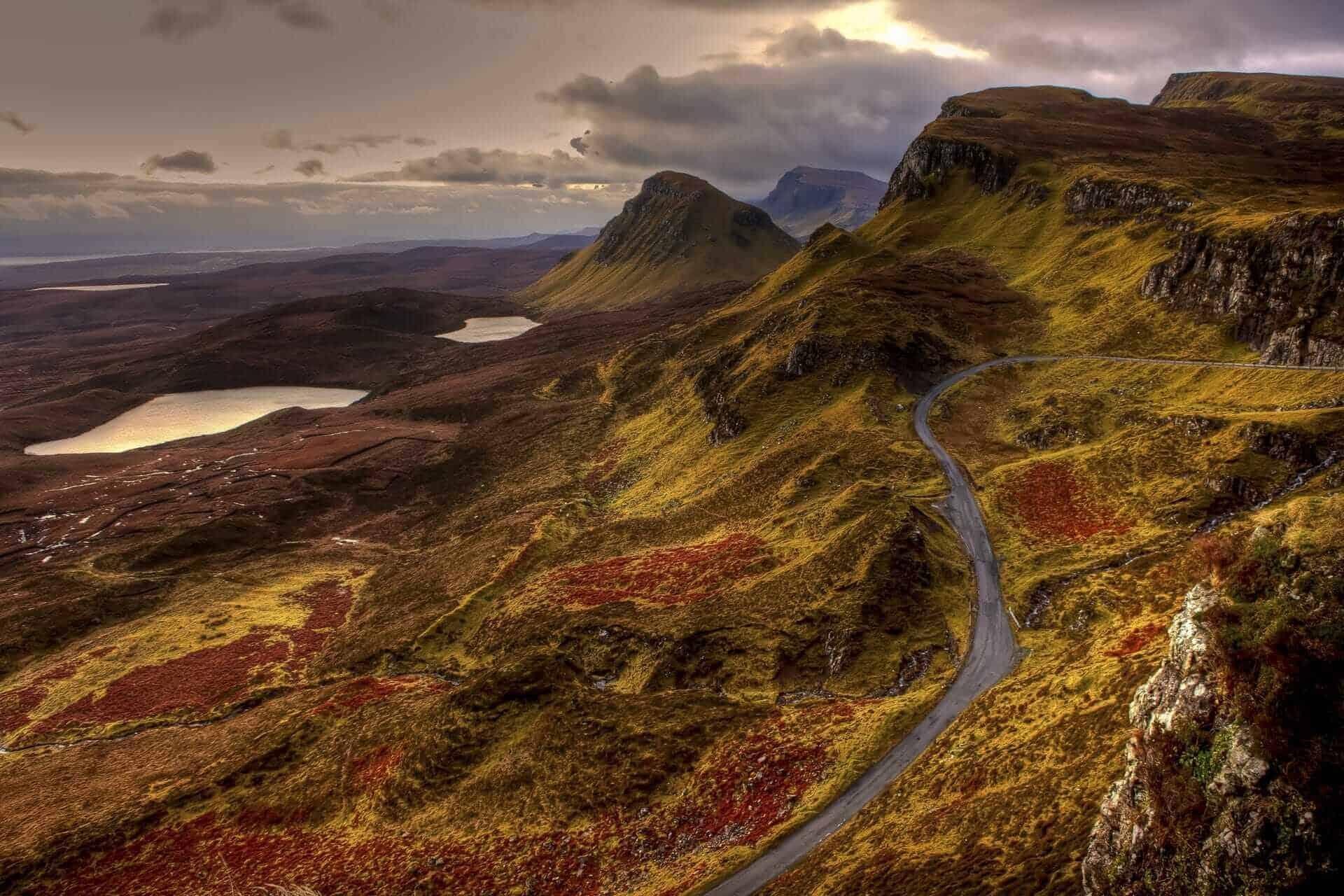 Scottish Highland Drive