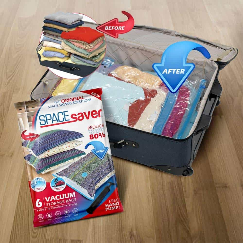 Space Saver Travel Bag for clothes