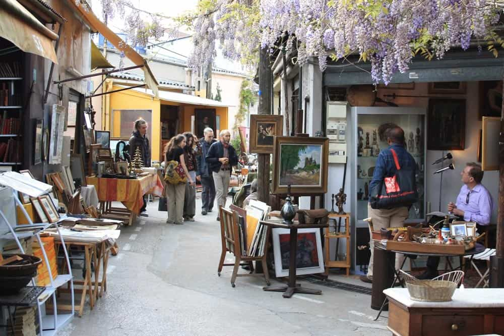 St-Ouen-flea-market, Paris