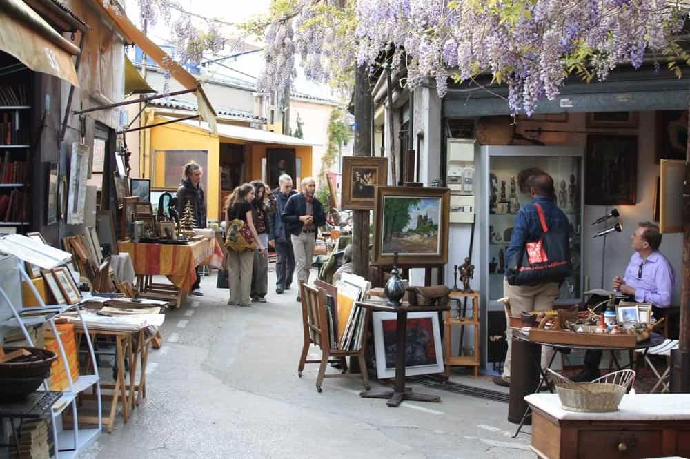 St Ouen flea market, Paris