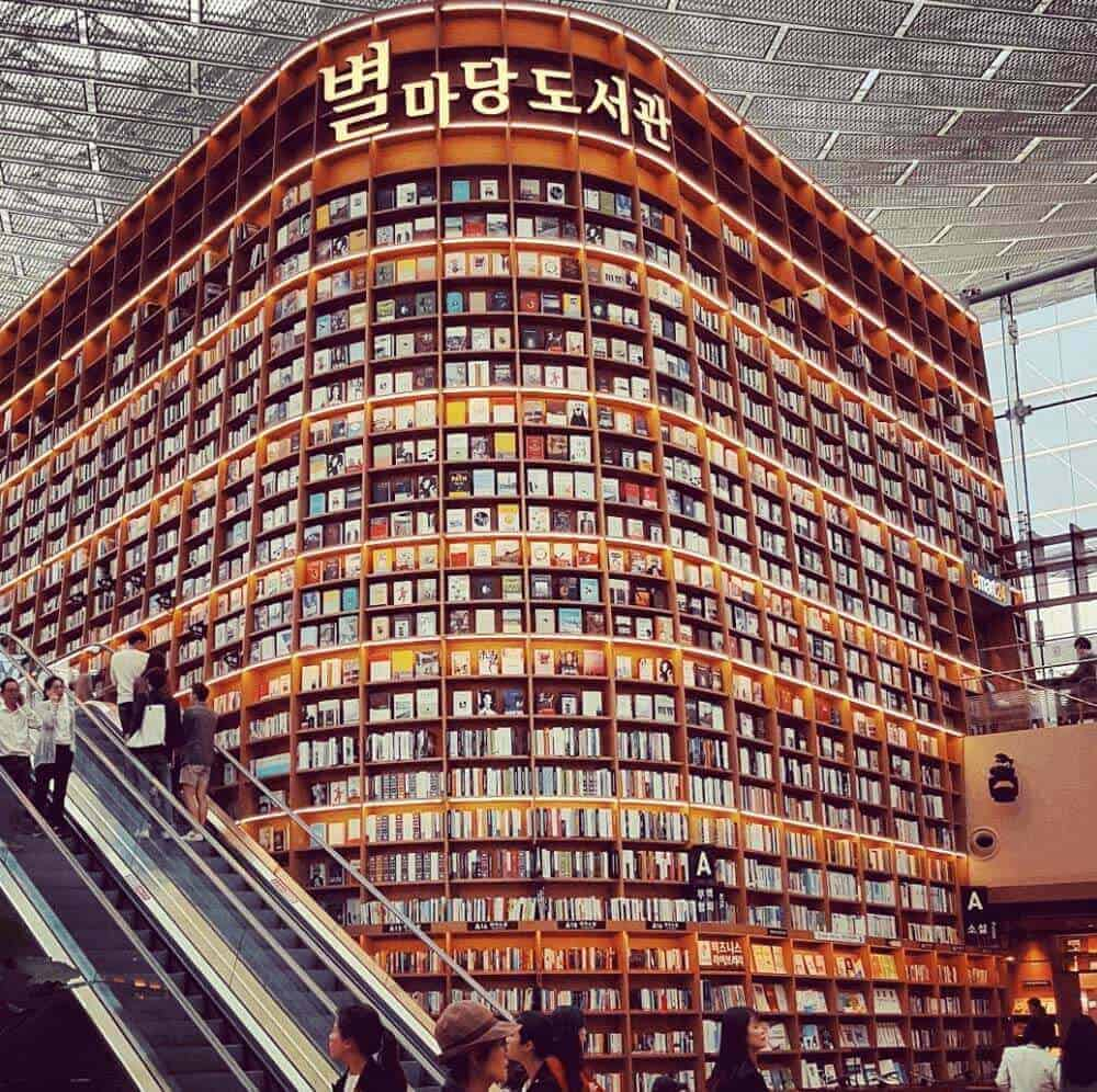 Starfield Library in COEX Mall - Seoul