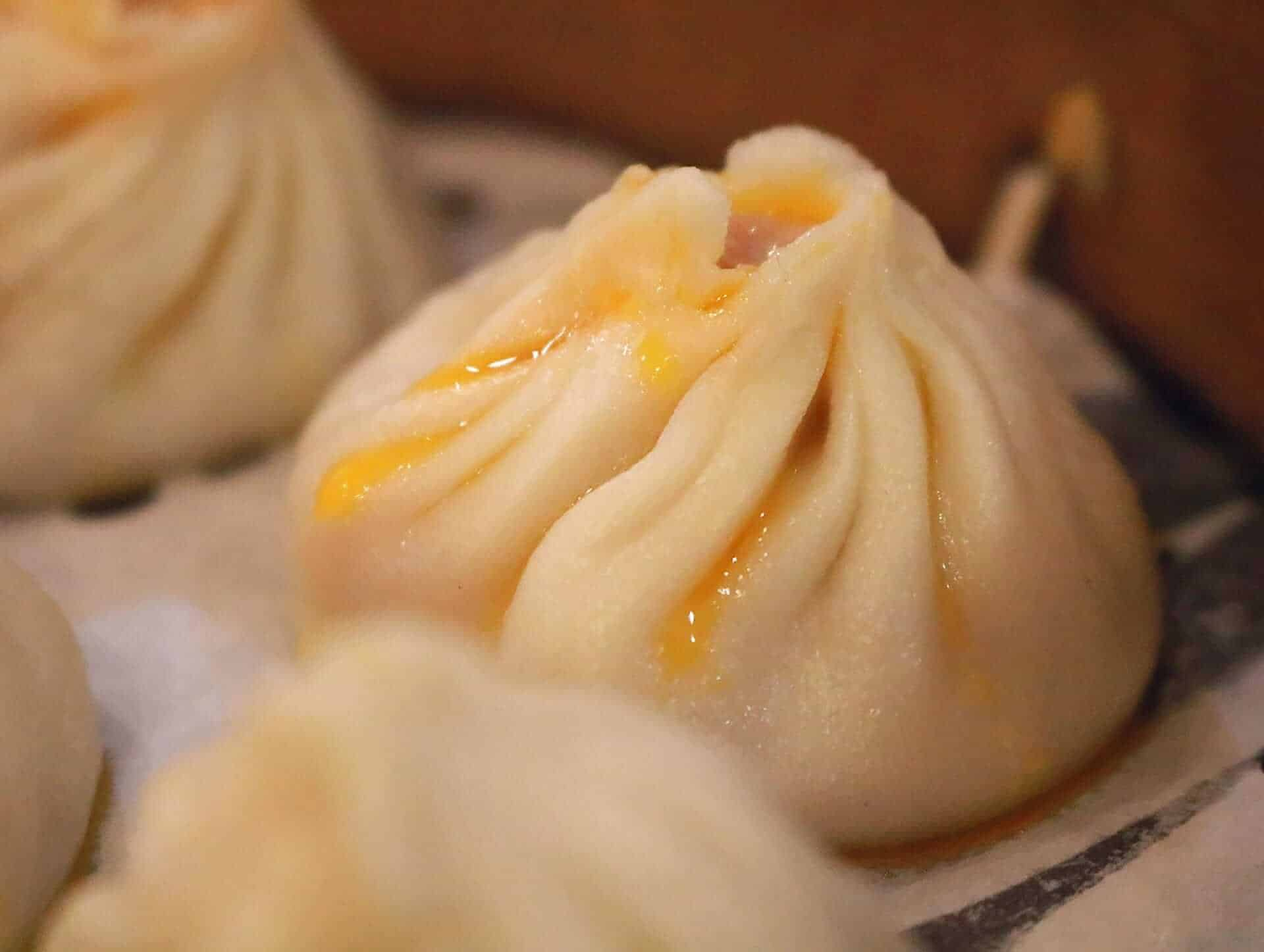 Steamed crab bun, Shanghai food viajera sola en Asia