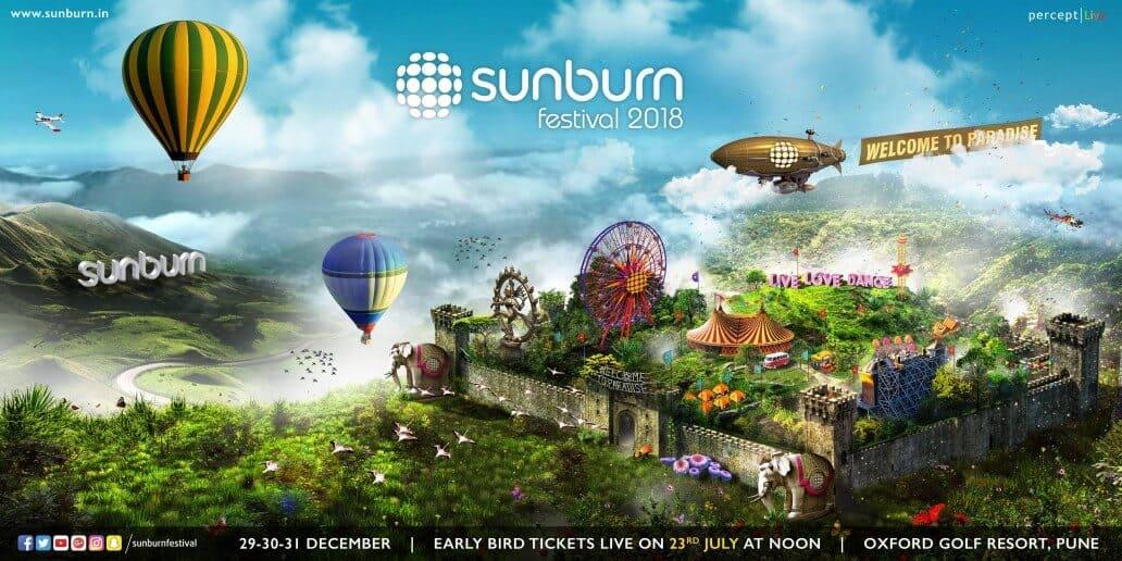 Sunburn Festival Pune 2018