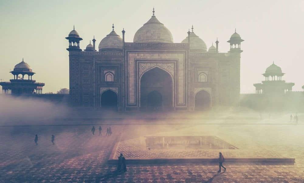 Taj Mahal Pics - Taj Mahal Mosque