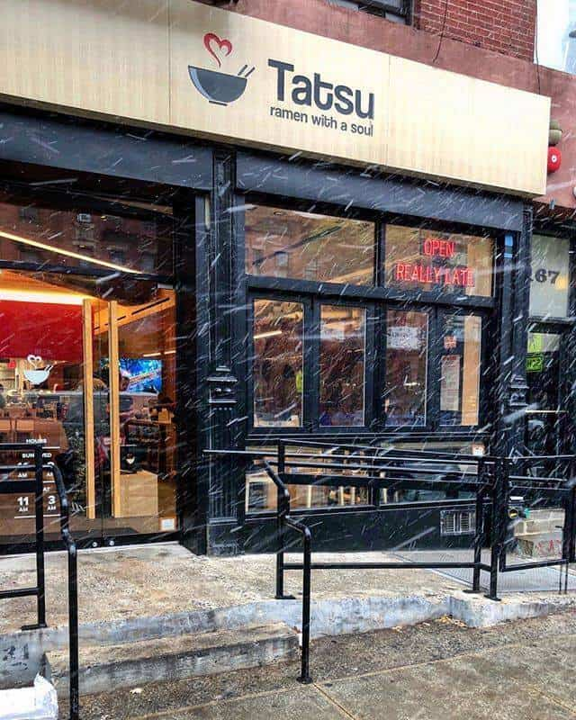 best vegetarian restaurants in Los Angeles - Tatsu Ramen, Los Angeles