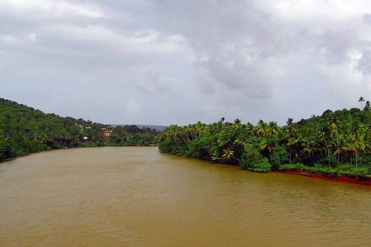 Terekhol river - Goa India