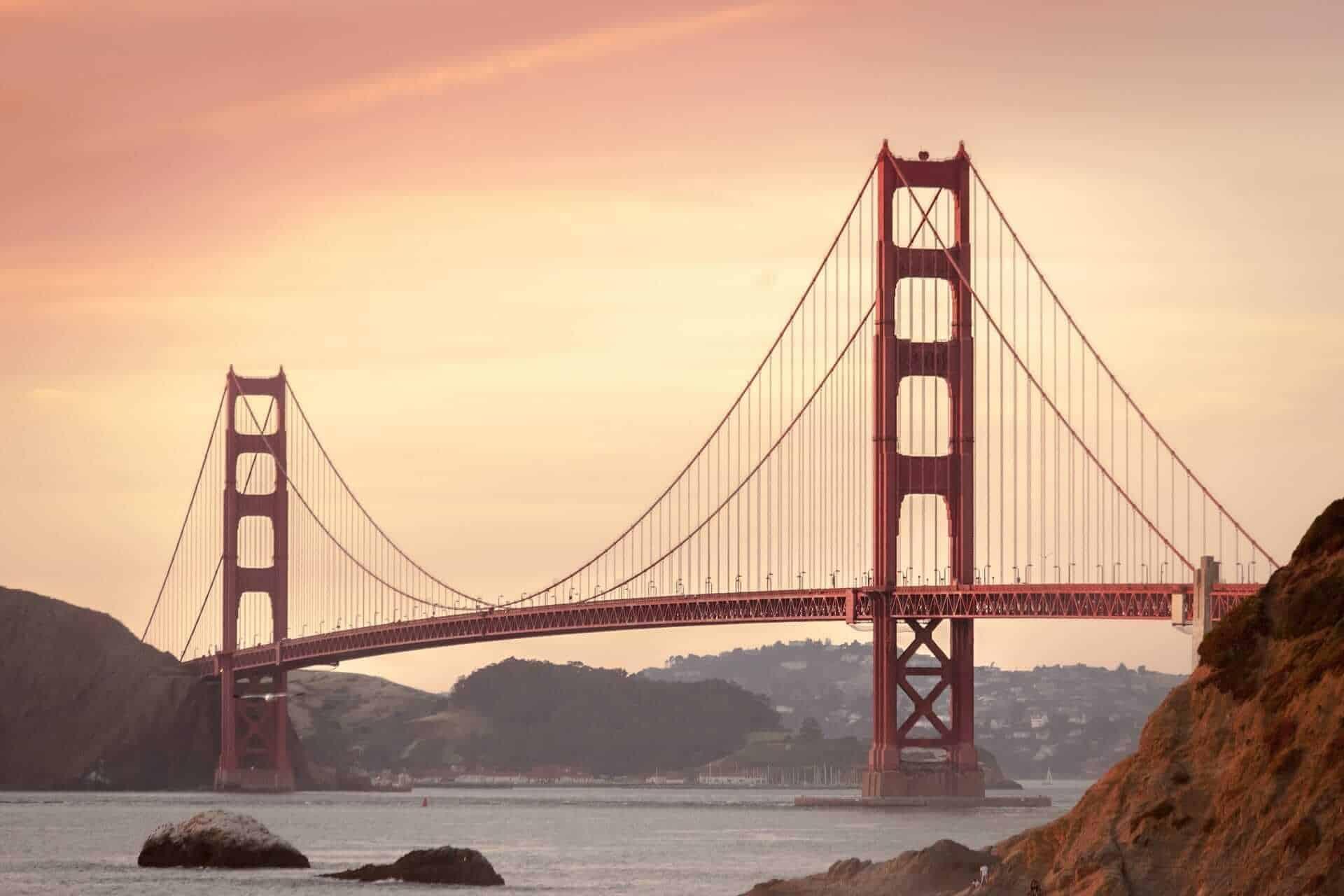 The Golden Gate Bridge. San Francisco
