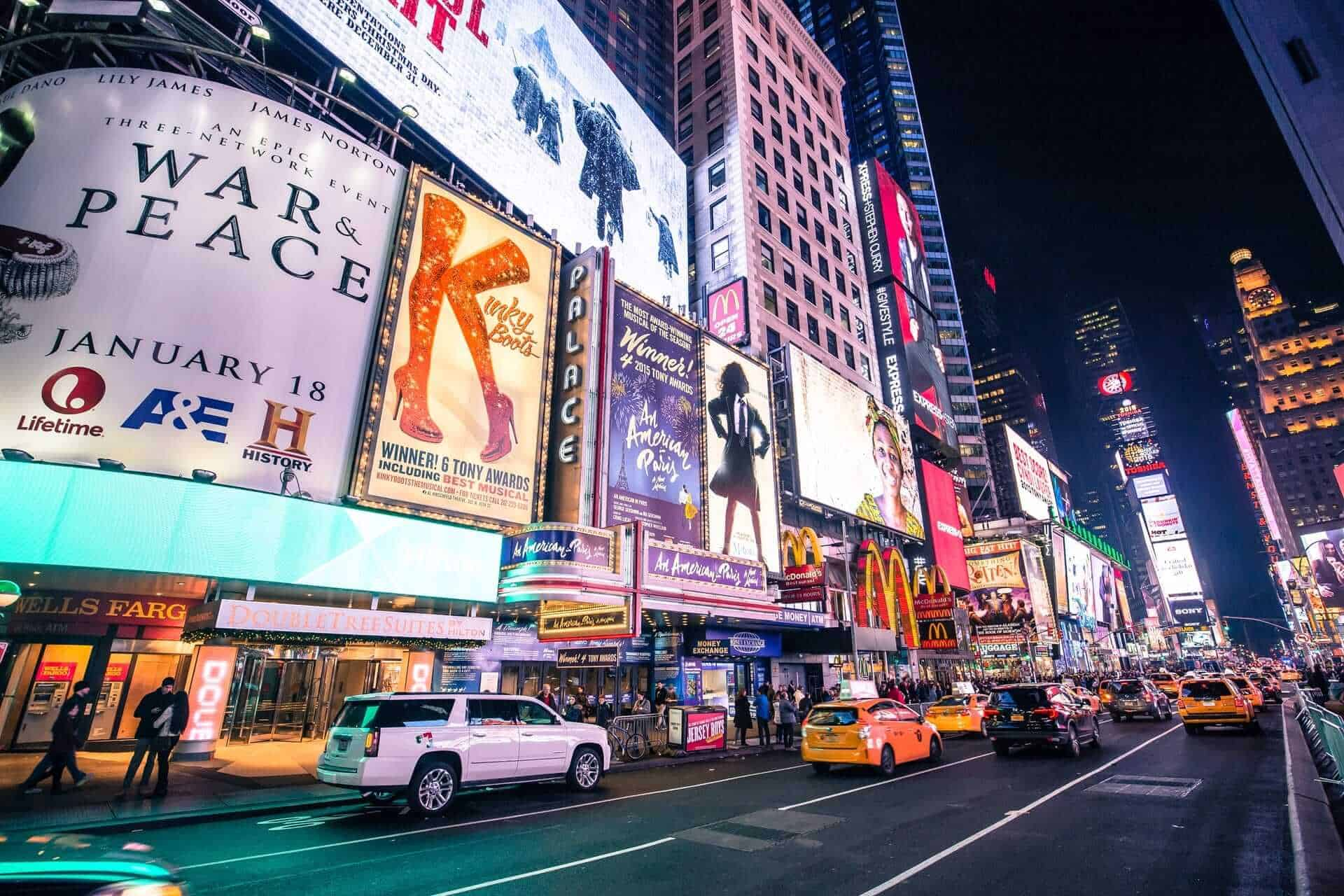 Theatre District, New York