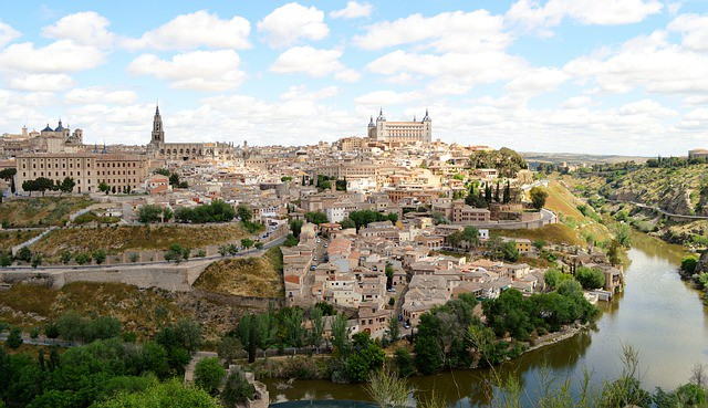 Toledo, a few kilometres outside Madrid