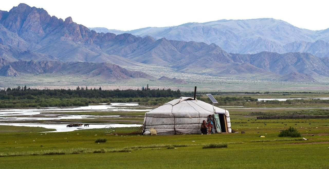 Traditional Ger, Mongolia