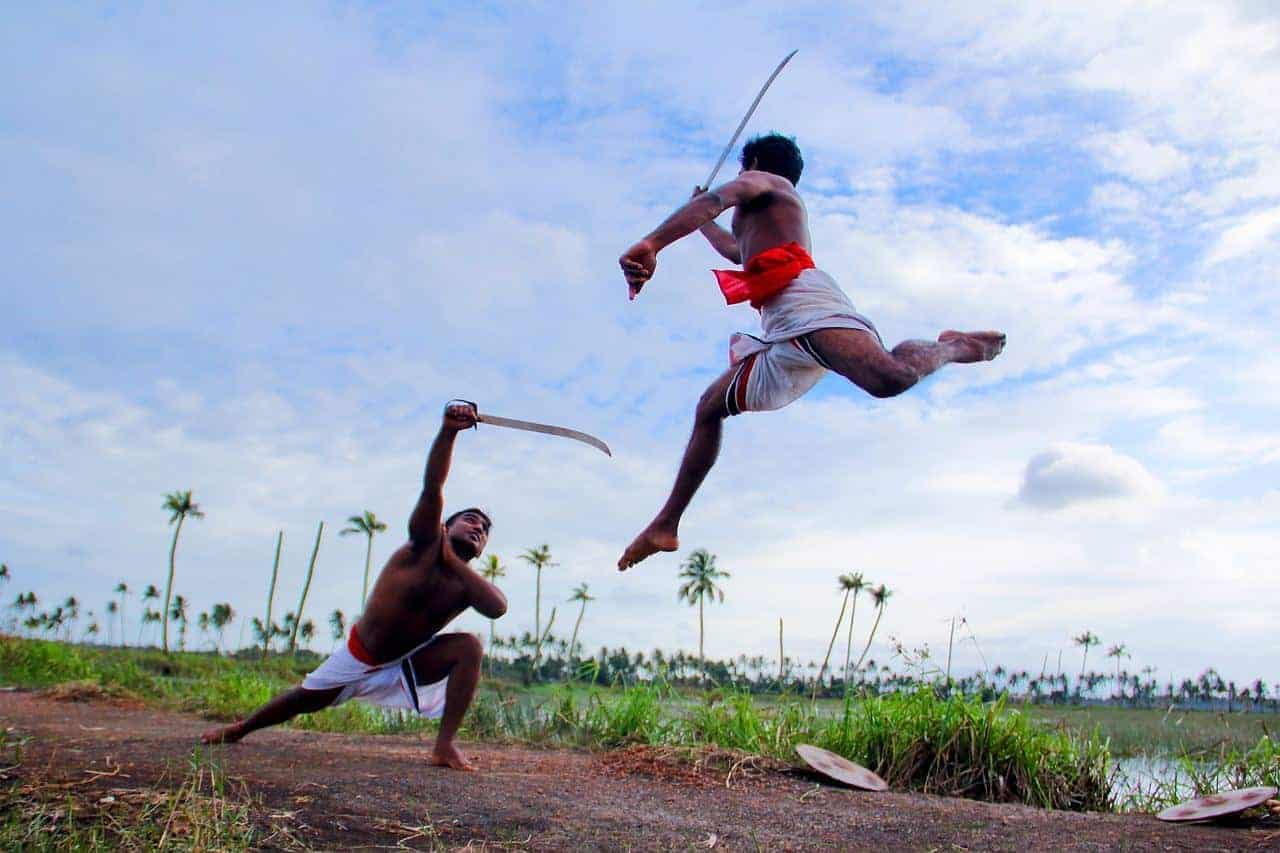 Traditional Kerala Martial Arts fight - Kalari Payattu