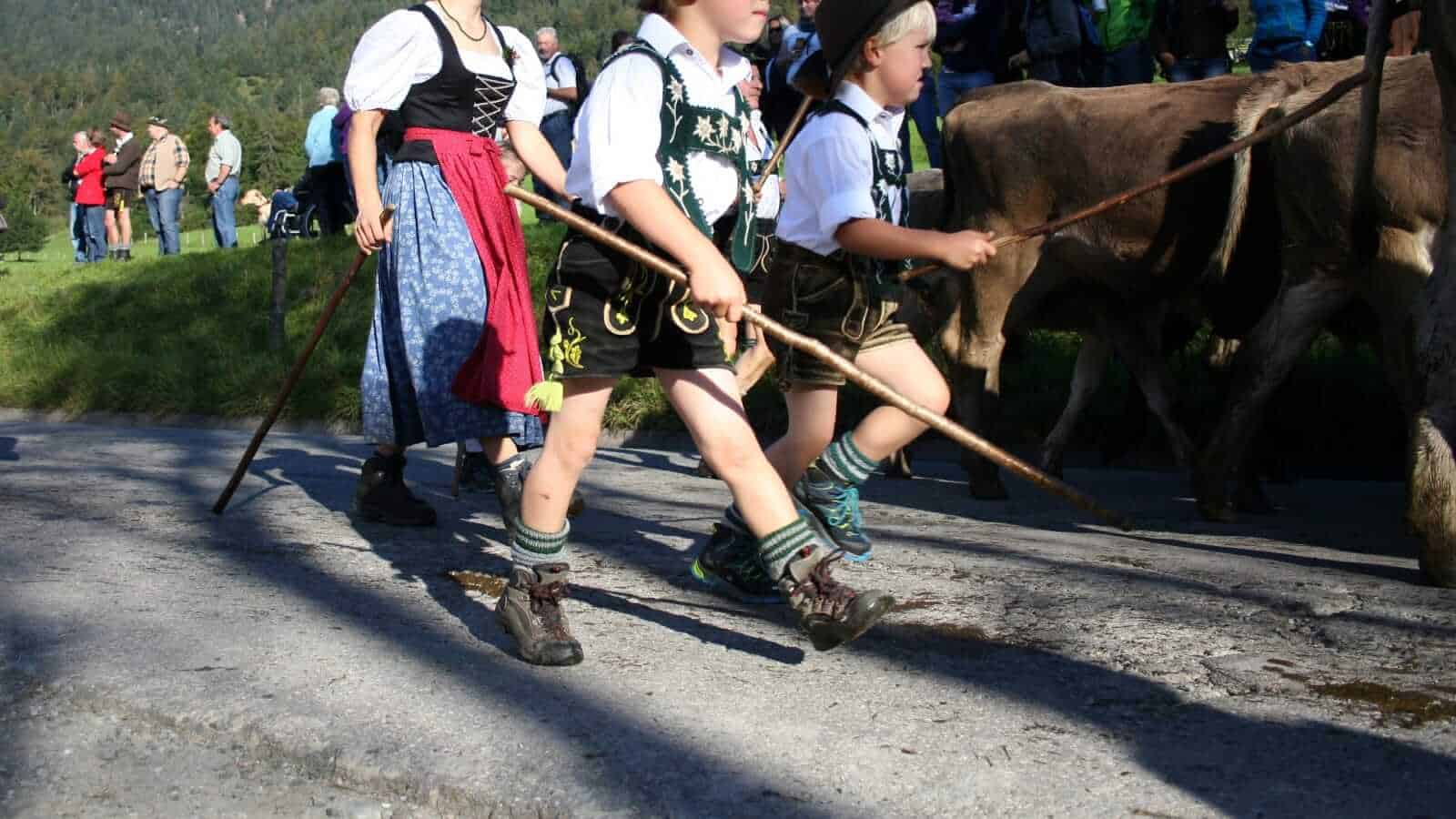 Traditional Swiss Dress