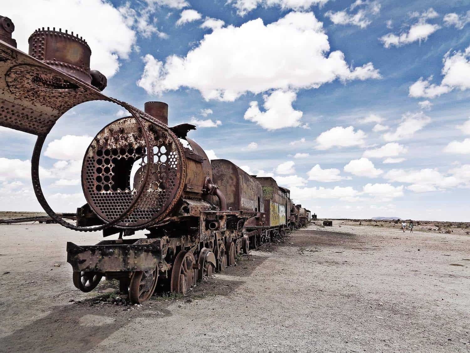 Train Graveyard, Uyuni, Bolivia