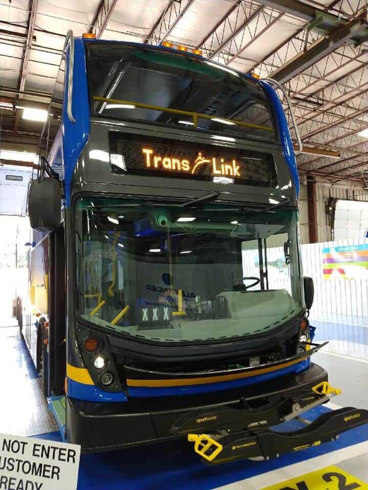 Trans Link Bus, Vancouver, Canada