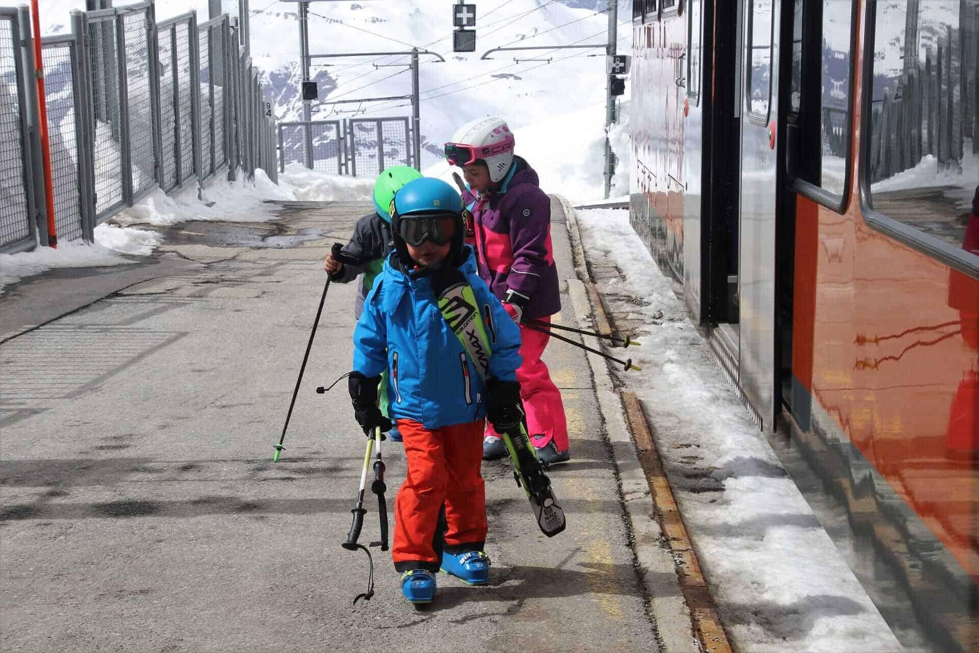 Traveling with children in Switzerland