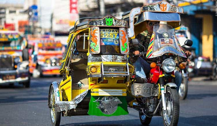 Trike in Philippines