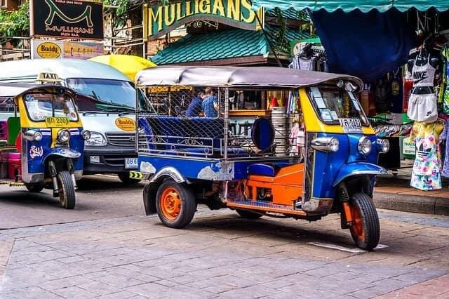 Tuk-tuk in Phuket