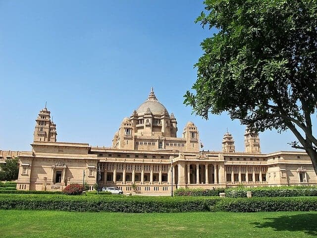 Umaid Bhawan Palace in Rajasthan
