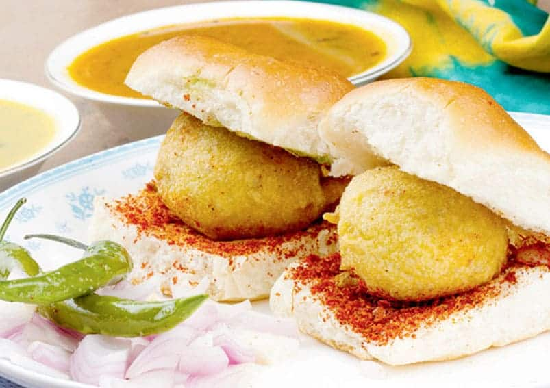 Vada Pav - cuisines from North India