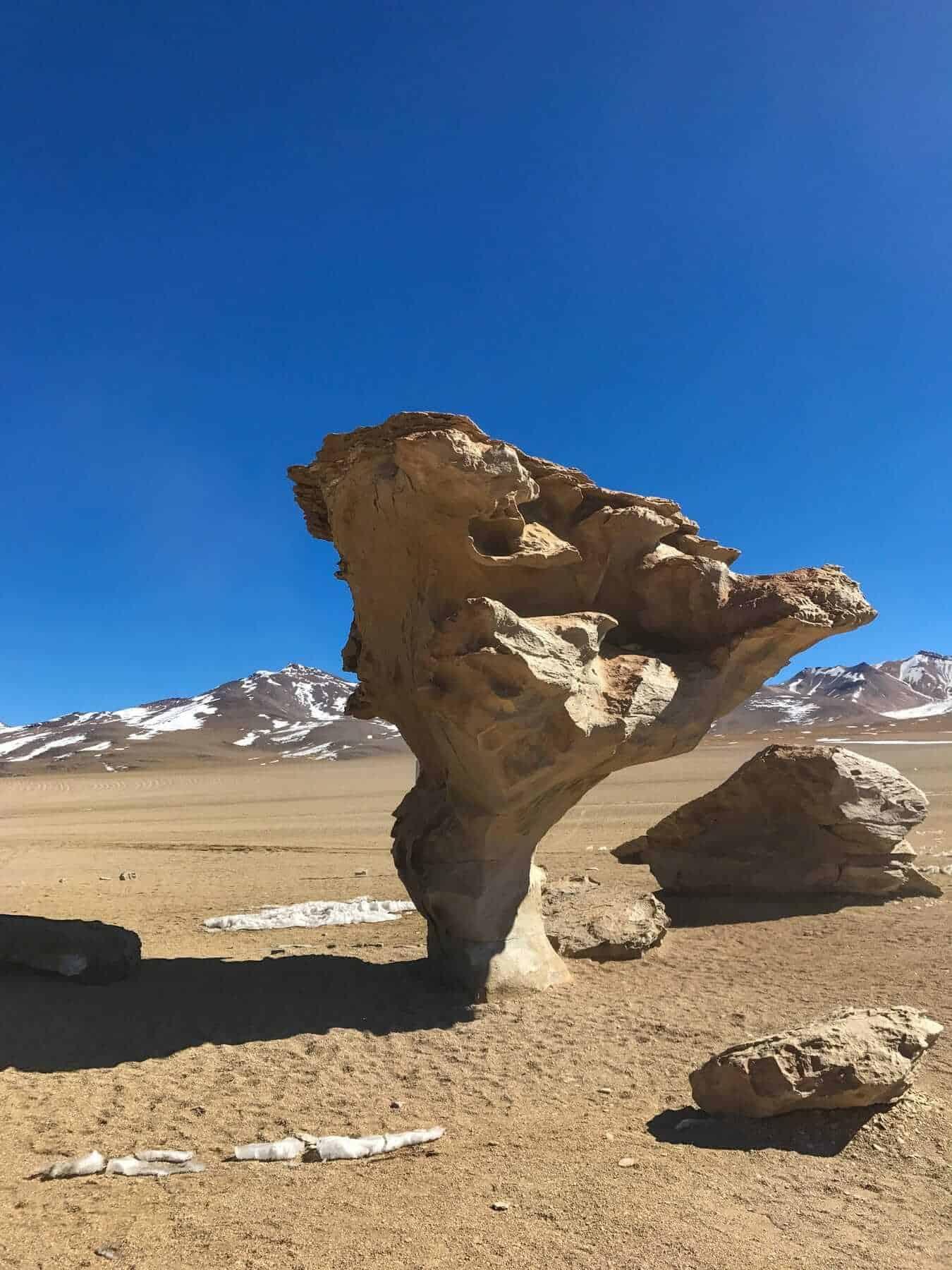 Valle de Rocas, Salar de Uyuni, Bolivia