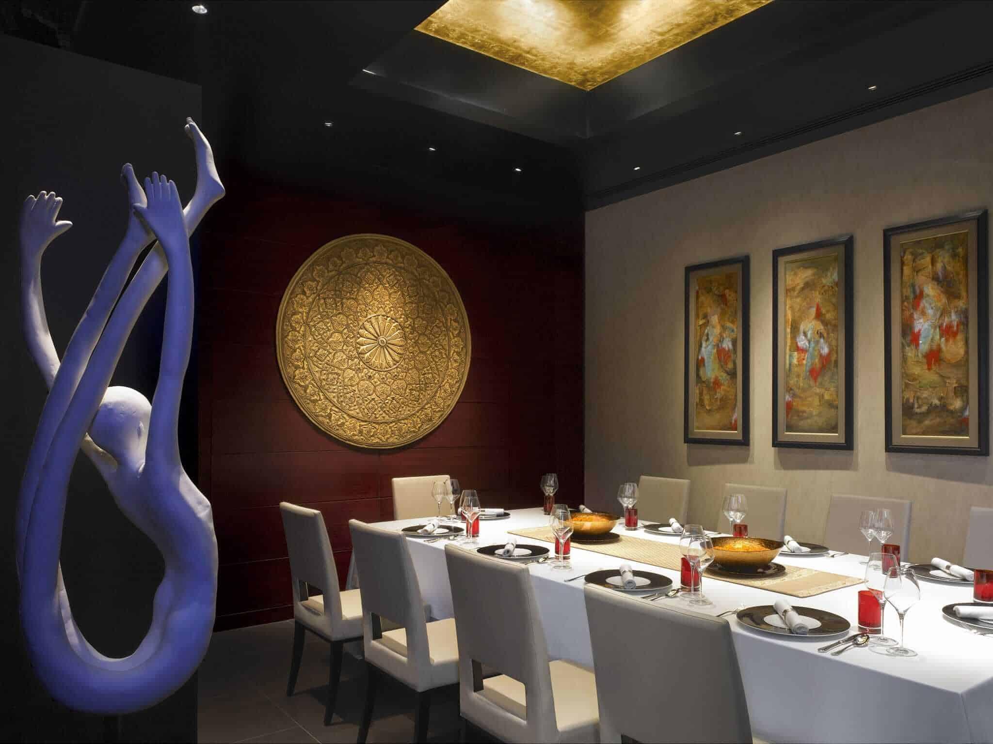 Varq restaurant, Taj Mahal Hotel, Delhi, India