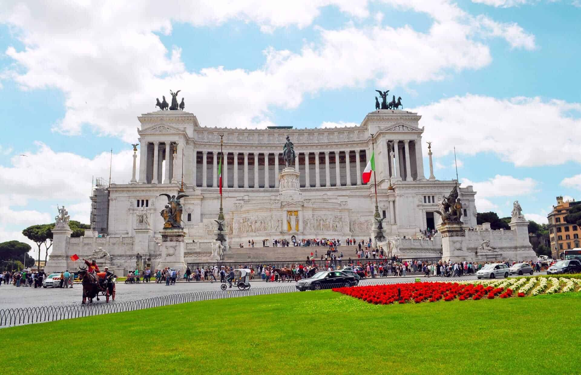 Victor Emmanuel II Monument in Rome