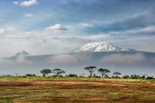 View of Kilimanjaro from Amboseli National Park, Kenya