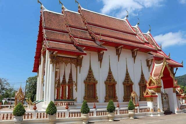 Wat Chalong Buddhist Temple in Phuket