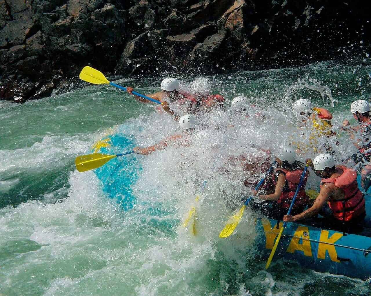 White water river-rafting
