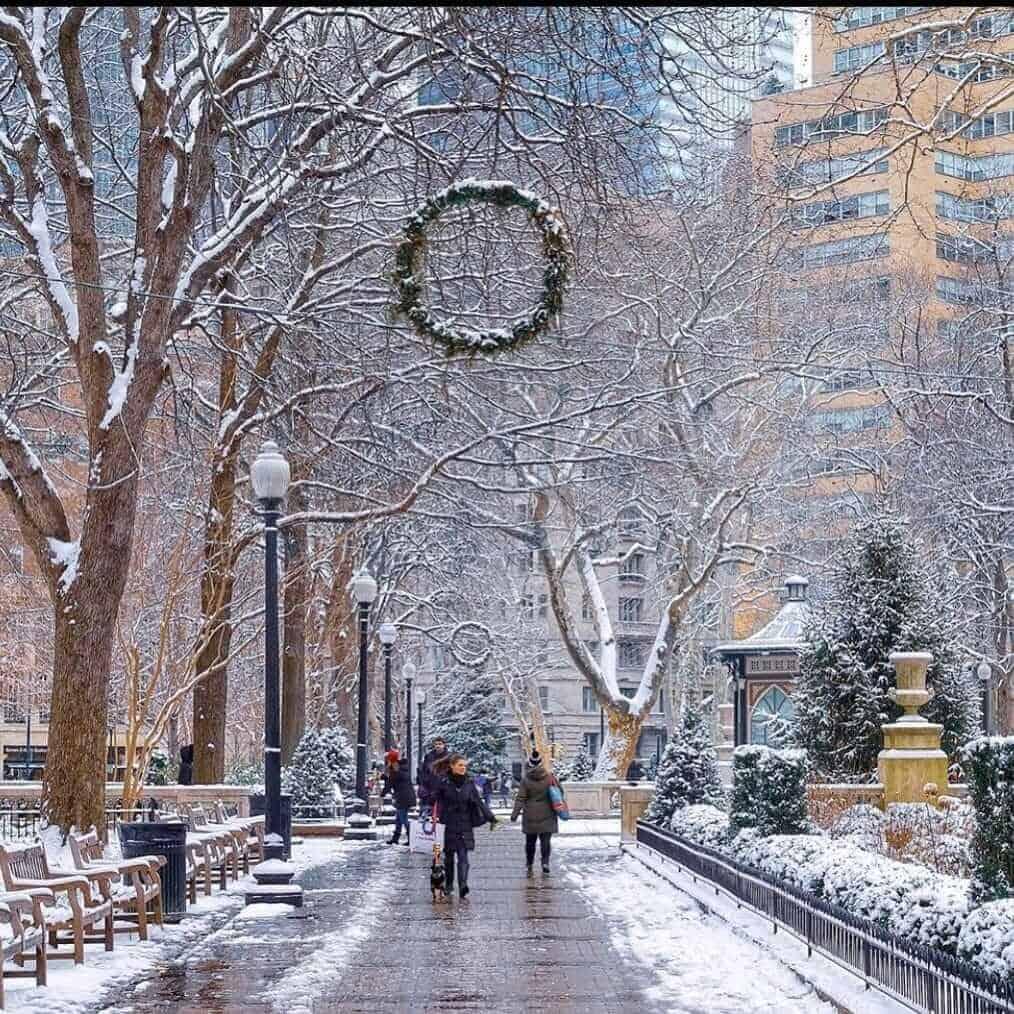 Winters in Philadelphia