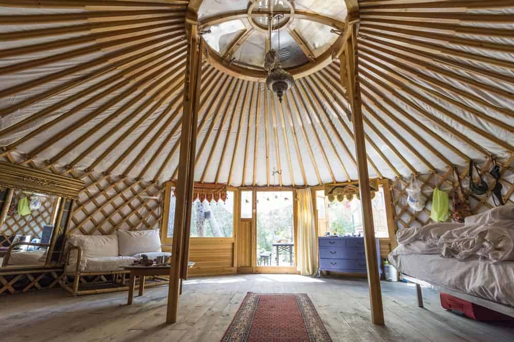 Yurt-inside