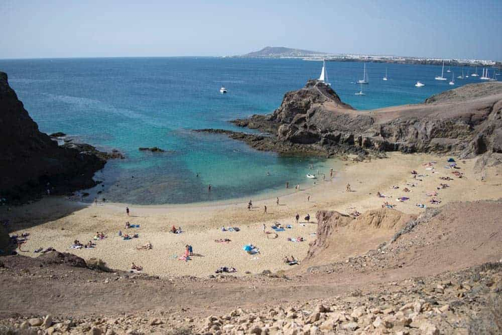 Best beaches in Lanzarote, Spain