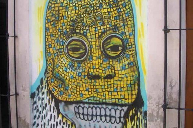 Grafitti - Oaxaca