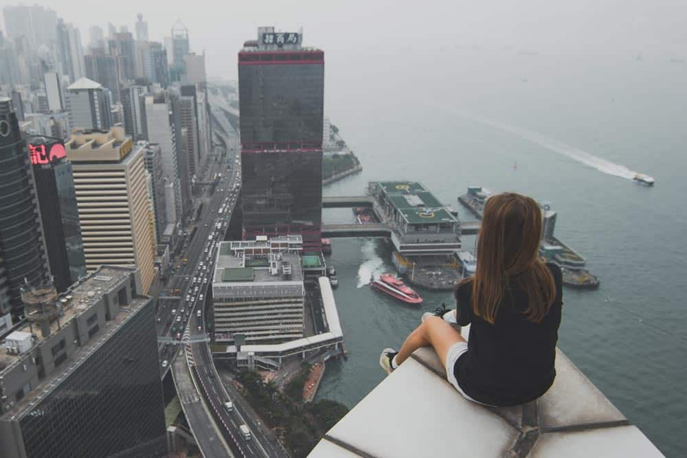 Female solo travel in Hong Kong
