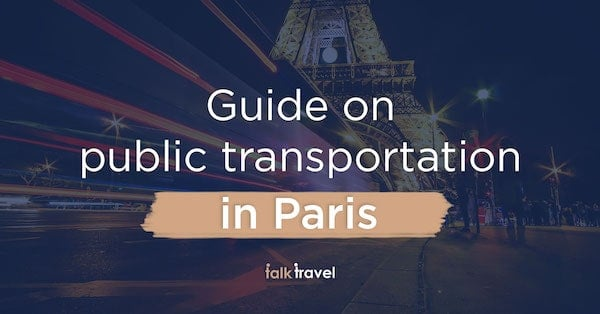 How to use the public transportation in Paris