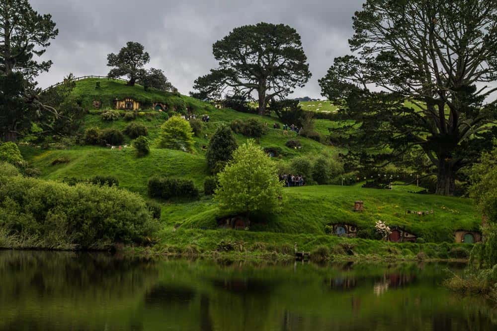 hobbiton new zealand fictional places