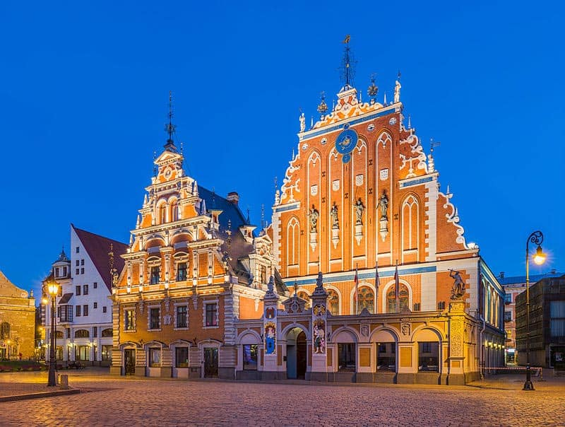 House of Blackheads, Riga, Latvia