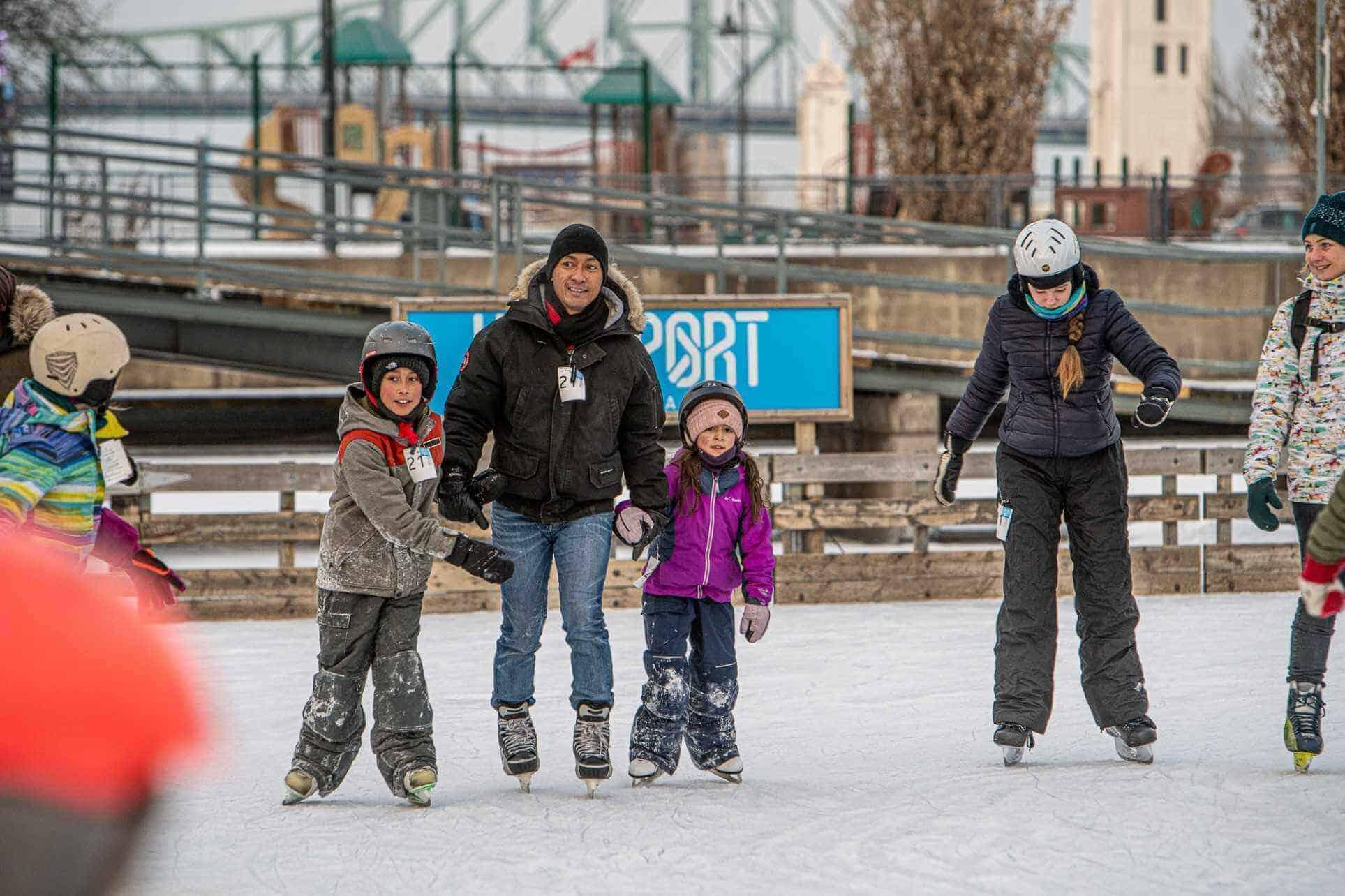 ice-skating-Montreal, Canada